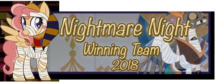 Nightmare Night Winning Team 2018