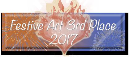 Festive Art Contest 3rd Place