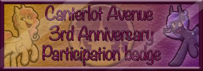Canterlot Avenue 3rd Year Anniversary