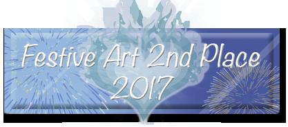 Festive Art Contest 2nd Place