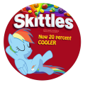 BE A Skittleee!