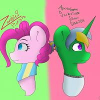 Ask Survivor Silent and Zombie Pinkie
