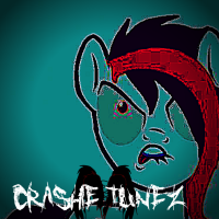 Ask Crashie Tunez (the pony metalhead)