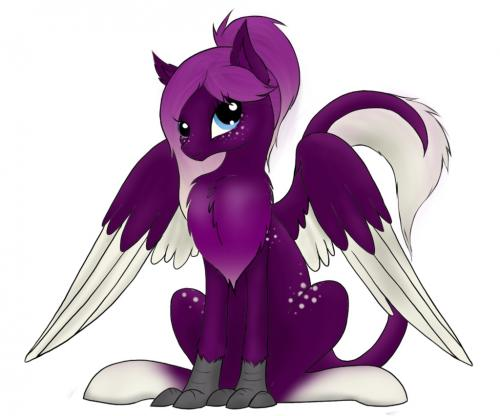 That Purple Hippogriff
