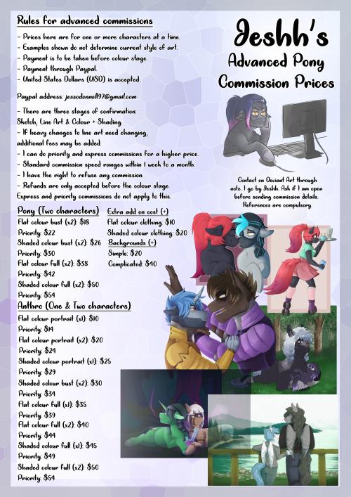 Commission Sheet (Advanced MLP)