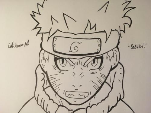 Naruto Pen Sketch.