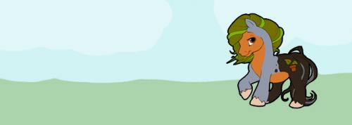 Robin the Earth Pony - Header
