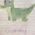 Gummy the crocigator