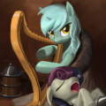 Lyra Heartstrings and Bon Bon